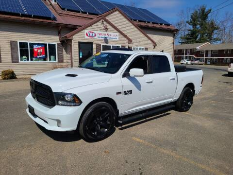 2017 RAM Ram Pickup 1500 for sale at V & F Auto Sales in Agawam MA