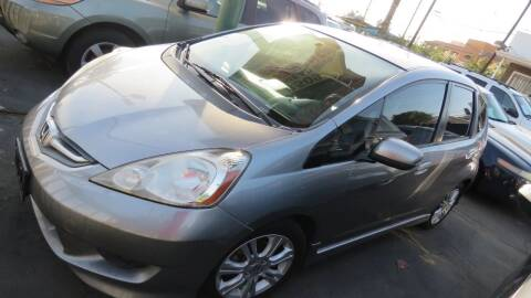 2009 Honda Fit for sale at Affordable Auto Inc. in Pico Rivera CA