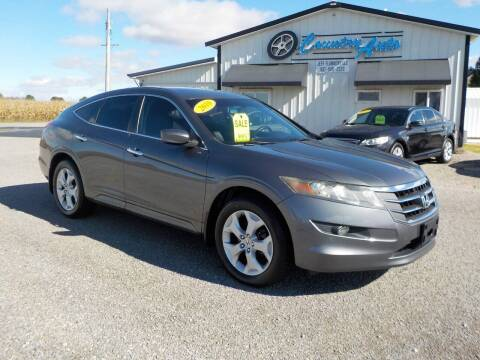 2010 Honda Accord Crosstour for sale at Country Auto in Huntsville OH