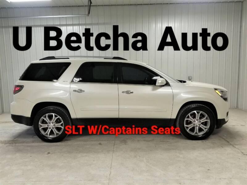 2013 GMC Acadia for sale at Ubetcha Auto in Saint Paul NE