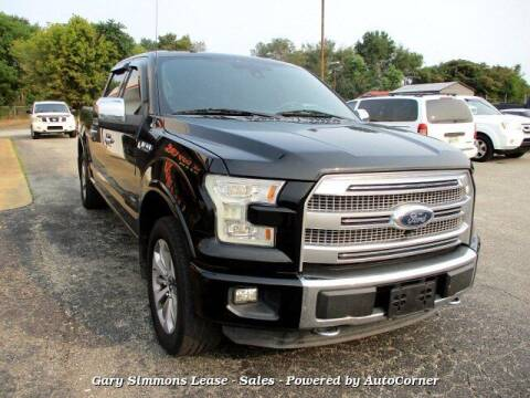 2016 Ford F-150 for sale at Gary Simmons Lease - Sales in Mckenzie TN