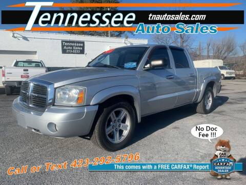 2007 Dodge Dakota for sale at Tennessee Auto Sales in Elizabethton TN