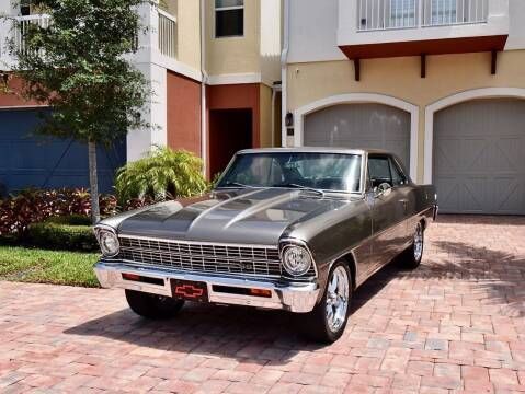 1967 Chevrolet Nova for sale at Sunshine Classics, LLC in Boca Raton FL