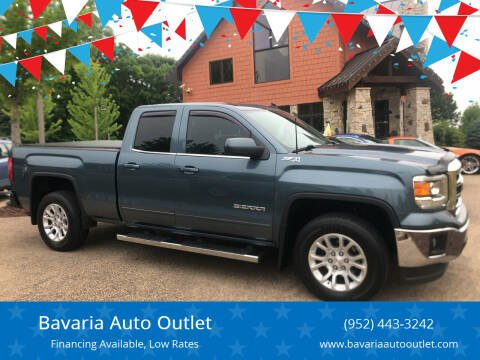2014 GMC Sierra 1500 for sale at Bavaria Auto Outlet in Victoria MN