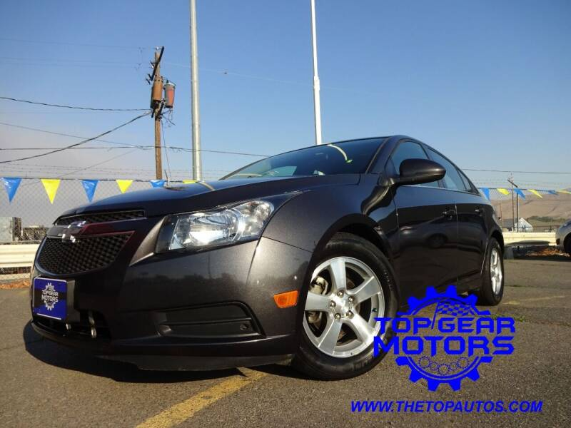 2014 Chevrolet Cruze for sale at Top Gear Motors in Union Gap WA