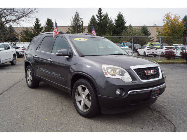 2012 GMC Acadia for sale at Classified pre-owned cars of New Jersey in Mahwah NJ
