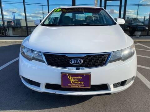2012 Kia Forte for sale at Greenville Motor Company in Greenville NC