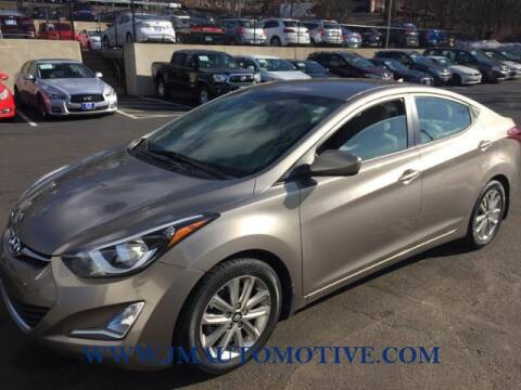 2014 Hyundai Elantra for sale at J & M Automotive in Naugatuck CT