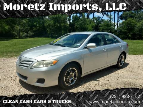 2010 Toyota Camry for sale at Moretz Imports, LLC in Spring TX
