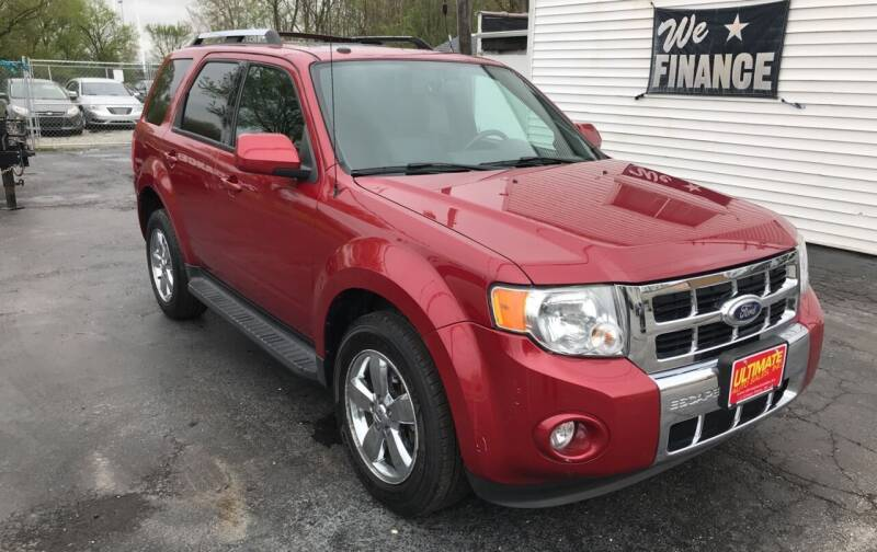 2010 Ford Escape for sale at Ultimate Auto Sales in Crown Point IN