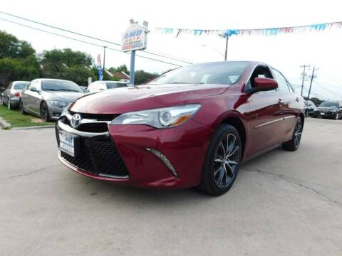 2017 Toyota Camry for sale at AMD AUTO in San Antonio TX