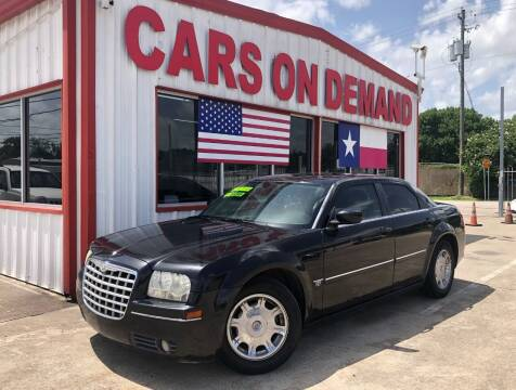 2006 Chrysler 300 for sale at Cars On Demand 2 in Pasadena TX