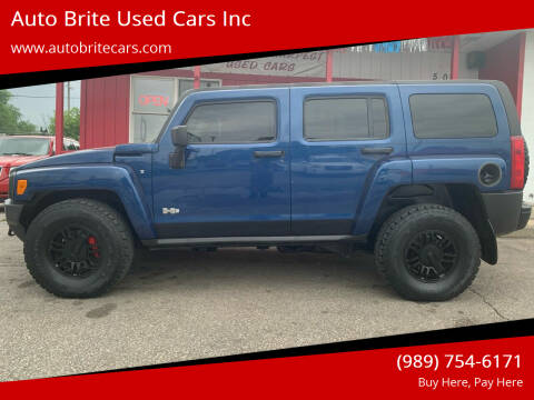 2006 HUMMER H3 for sale at Auto Brite Used Cars Inc in Saginaw MI