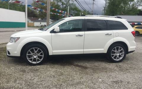 2012 Dodge Journey for sale at Antique Motors in Plymouth IN