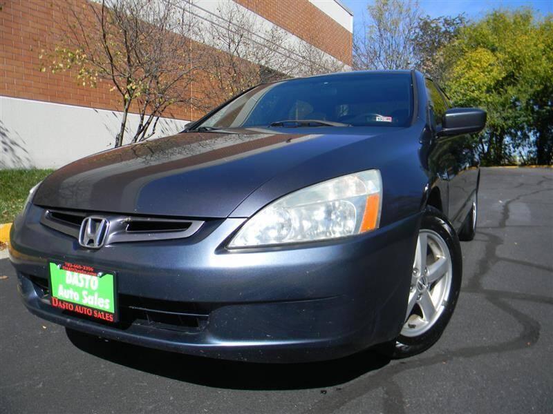 2005 Honda Accord for sale at Dasto Auto Sales in Manassas VA