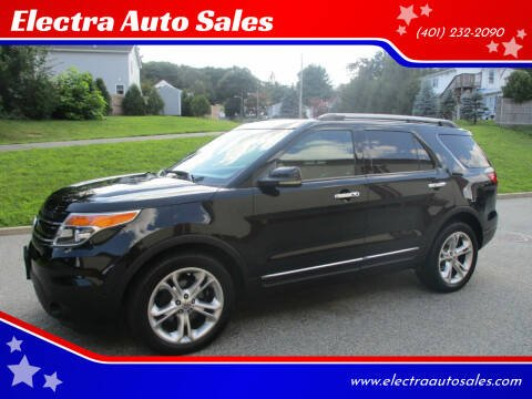 2011 Ford Explorer for sale at Electra Auto Sales in Johnston RI