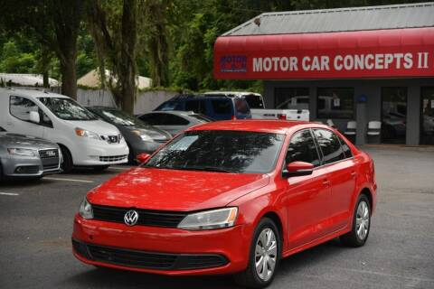2012 Volkswagen Jetta for sale at Motor Car Concepts II - Apopka Location in Apopka FL