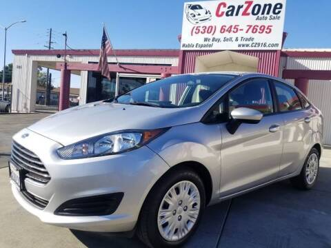 2015 Ford Fiesta for sale at CarZone in Marysville CA
