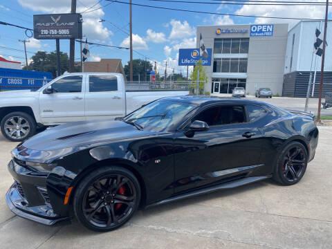 2018 Chevrolet Camaro for sale at FAST LANE AUTO SALES in San Antonio TX