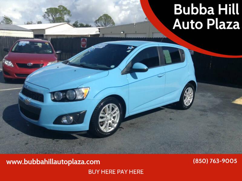 2014 Chevrolet Sonic for sale at Bubba Hill Auto Plaza in Panama City FL