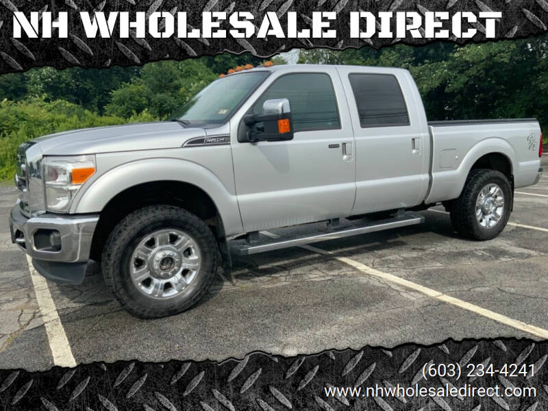 2013 Ford F-250 Super Duty for sale at NH WHOLESALE DIRECT in Derry NH