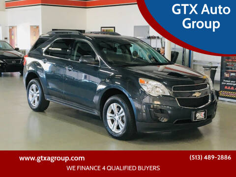 2014 Chevrolet Equinox for sale at GTX Auto Group in West Chester OH