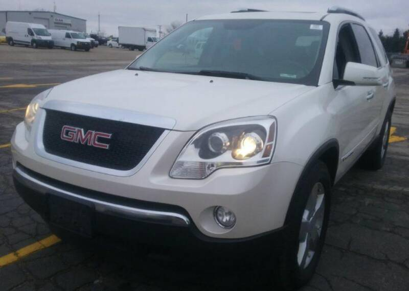 2008 GMC Acadia for sale at Knowlton Motors, Inc. in Freeport IL