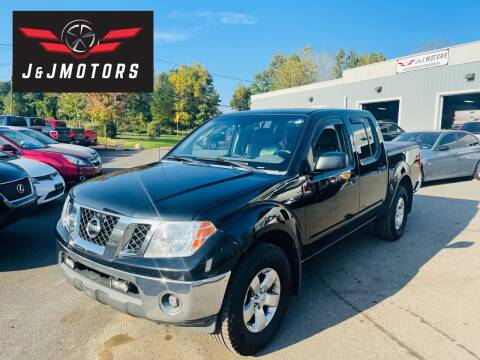 2009 Nissan Frontier for sale at J & J MOTORS in New Milford CT
