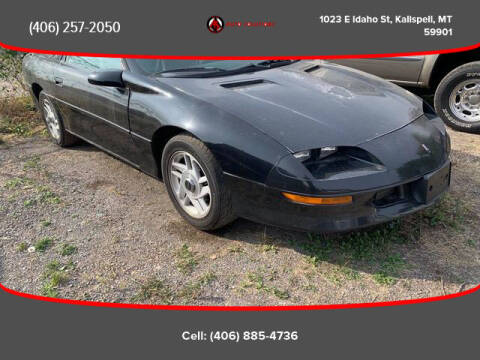 1996 Chevrolet Camaro for sale at Auto Solutions in Kalispell MT