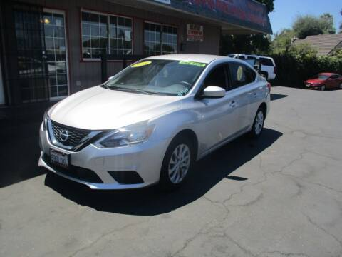 2018 Nissan Sentra for sale at Quick Auto Sales in Modesto CA