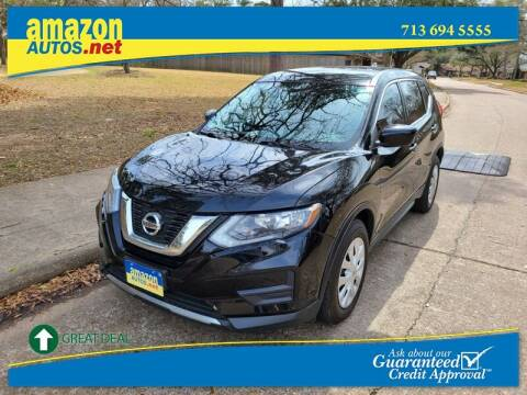 2017 Nissan Rogue for sale at Amazon Autos in Houston TX