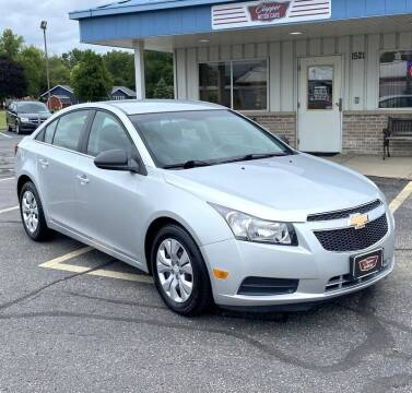 2012 Chevrolet Cruze for sale at Clapper MotorCars in Janesville WI