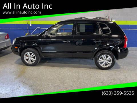 2009 Hyundai Tucson for sale at All In Auto Inc in Addison IL