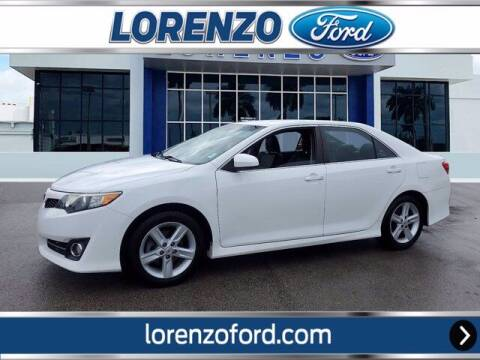 2012 Toyota Camry for sale at Lorenzo Ford in Homestead FL