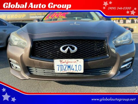 2014 Infiniti Q50 for sale at Global Auto Group in Fontana CA