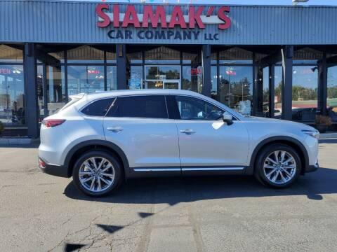 2021 Mazda CX-9 for sale at Siamak's Car Company llc in Salem OR