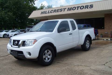 2012 Nissan Frontier for sale at HILLCREST MOTORS LLC in Byram MS