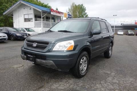 2004 Honda Pilot for sale at Leavitt Auto Sales and Used Car City in Everett WA