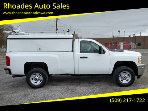 2012 Chevrolet Silverado 2500HD for sale at Rhoades Auto Sales in Spokane Valley WA