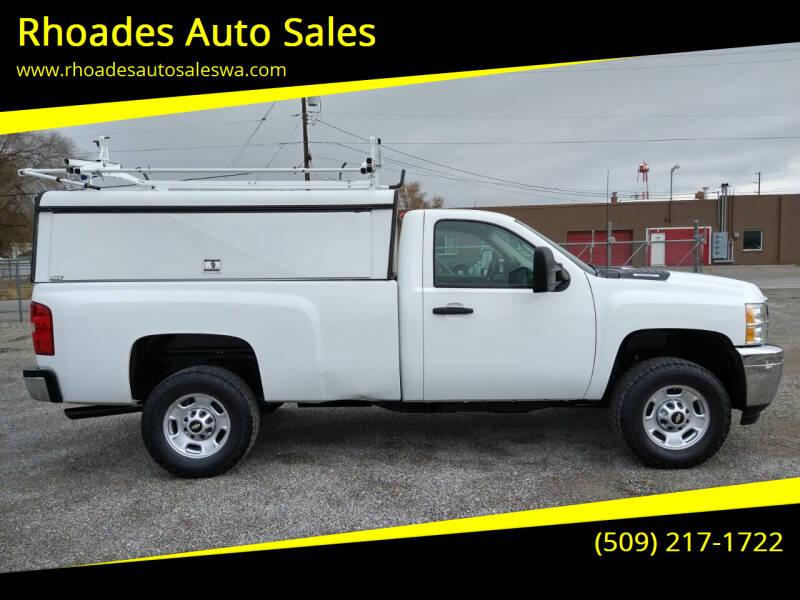 2012 Chevrolet Silverado 2500HD for sale at Rhoades Auto Sales in Spokane Valley WA
