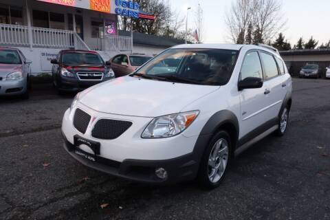 2007 Pontiac Vibe for sale at Leavitt Auto Sales and Used Car City in Everett WA