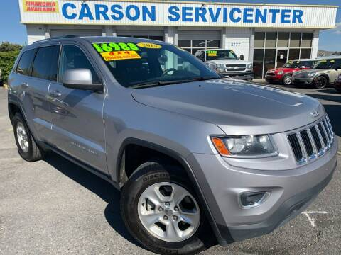 2014 Jeep Grand Cherokee for sale at Carson Servicenter in Carson City NV