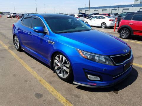 2015 Kia Optima for sale at Chubbuck Motor Co in Ordway CO