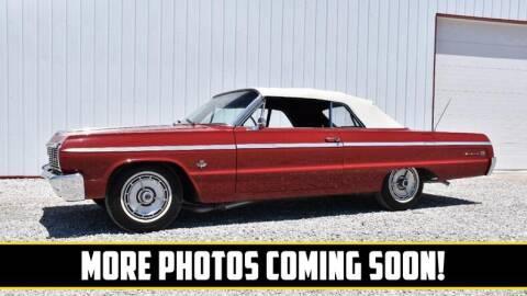 1964 Chevrolet Impala for sale at UNIQUE SPECIALTY & CLASSICS in Mankato MN