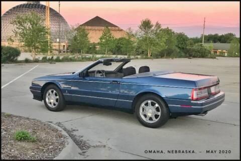 1993 Cadillac Allante for sale at Classic Car Deals in Cadillac MI