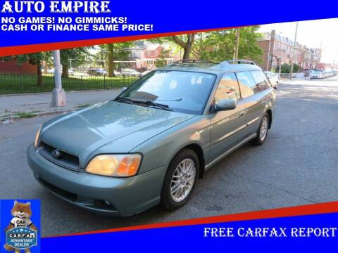2004 Subaru Legacy for sale at Auto Empire in Brooklyn NY