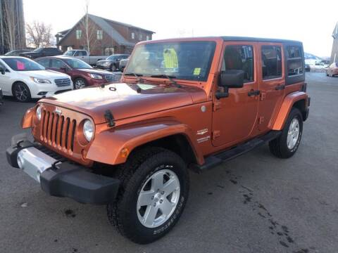 2011 Jeep Wrangler Unlimited for sale at Snyder Motors Inc in Bozeman MT