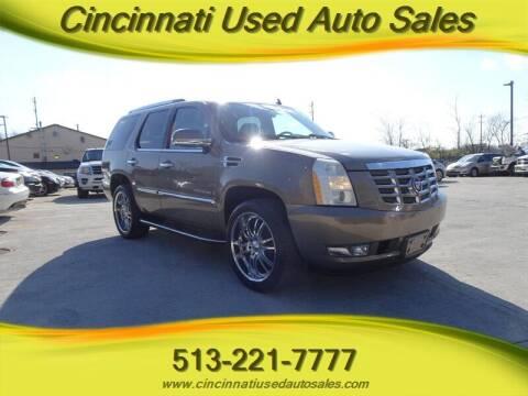 2007 Cadillac Escalade for sale at Cincinnati Used Auto Sales in Cincinnati OH