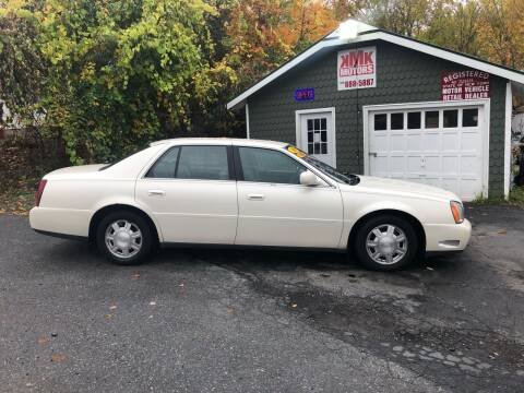 2003 Cadillac DeVille for sale at KMK Motors in Latham NY