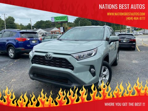 2020 Toyota RAV4 for sale at Nations Best Autos in Decatur GA